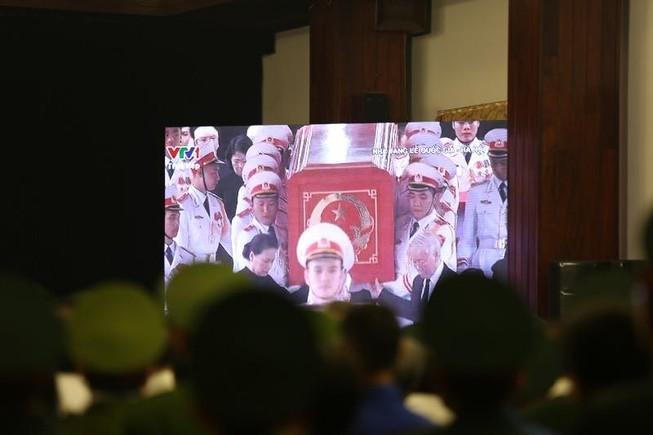Xúc động hình ảnh lễ truy điệu Chủ tịch nước tại TP.HCM