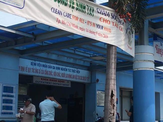 Côn đồ cầm dao truy sát bệnh nhân ở BV Gia Định