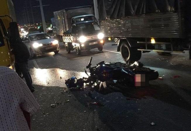 Một trinh sát hình sự quận Tân Phú gặp tai nạn tử vong