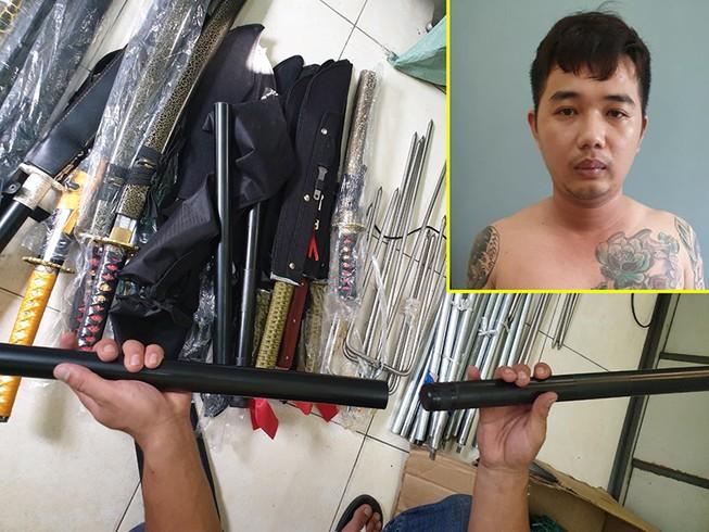 Thanh niên buôn súng qua mạng bị bắt khi nhờ sửa súng rulo