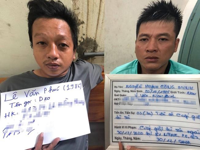 Giật điện thoại rồi trốn vào nhà dân khi bị công an truy đuổi
