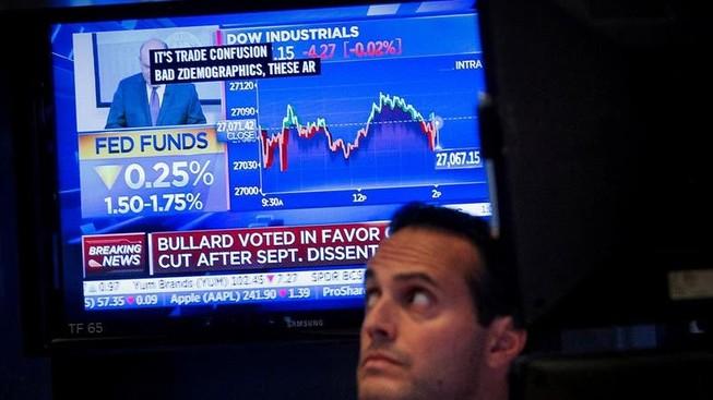 Mỹ giảm lãi suất lần ba liên tiếp, vàng leo dốc trở lại