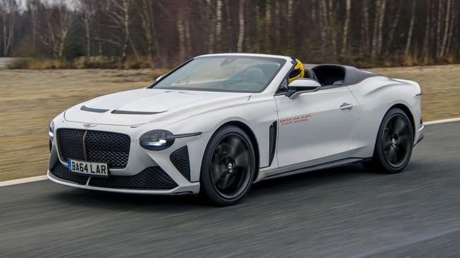 Bentley cho ra xe lắp ráp thủ công có giá 47 tỉ