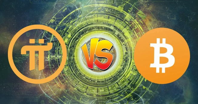 Đồng tiền Pi khác tiền Bitcoin ra sao?