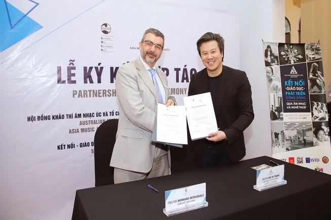 Thanh Bùi tiếp tục hợp tác với hội đồng âm nhạc quốc gia Úc