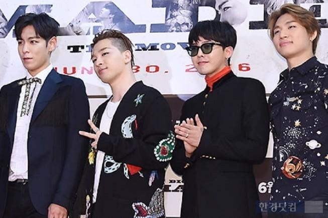 YG phản hồi về việc gia hạn hợp đồng của Big Bang