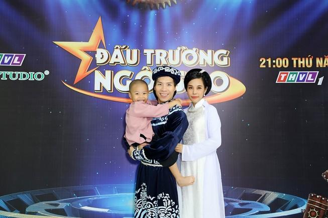 'Hoàng tử xiếc' Quốc Nghiệp khẳng định sẵn sàng ở nhà giữ con