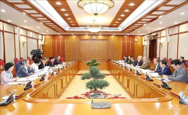 Bộ Chính trị quyết định một số nhân sự thuộc quản lý