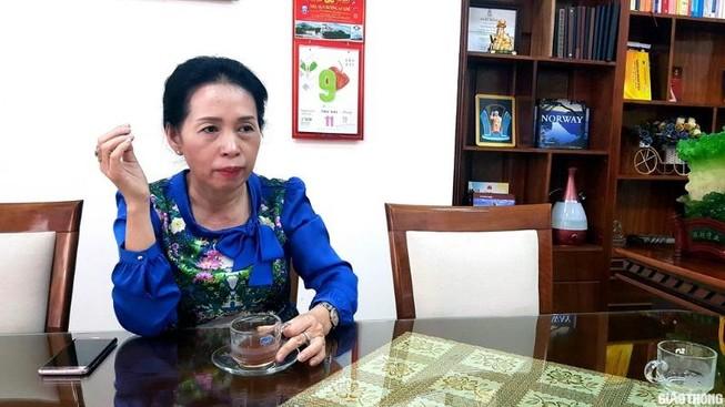 Bà Trần Thị Hoài Thanh - Giám đốc Sở LĐTB&XH Gia Lai