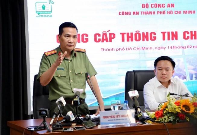 Đại tá Nguyễn Sỹ quang. Ảnh: PV