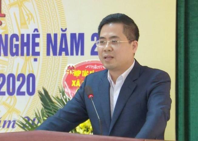Ông Nguyễn Hoàng Giang, tân Thứ trưởng Bộ Khoa học & Công nghệ. Ảnh: Chí Kiên/VGP