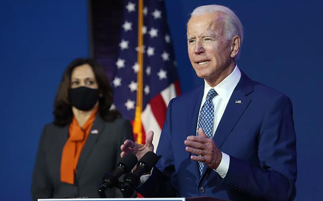Ông Joseph Robinette Biden Jr. được bầu làm Tổng thống Hợp chúng quốc Hoa Kỳ. Ảnh: TTXVN