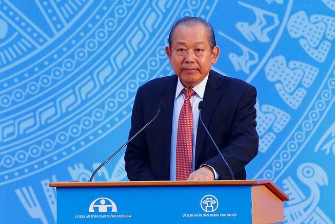 Phó Thủ tướng: Không xảy ra TNGT là món quà Tết ý nghĩa nhất