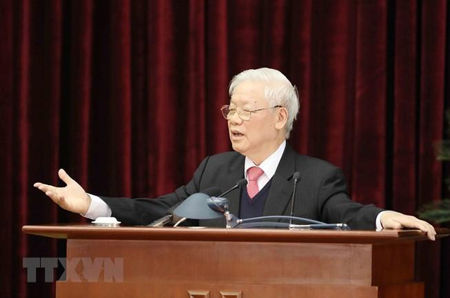 Toàn văn phát biểu bế mạc của Tổng bí thư tại Hội nghị TW 14