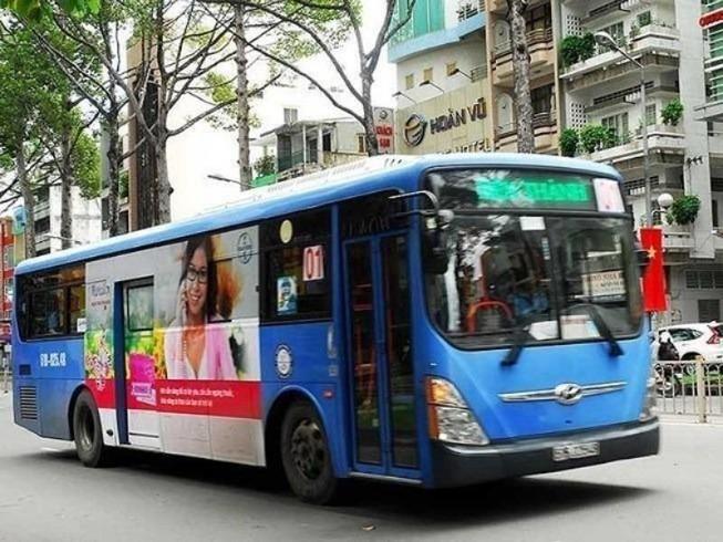 TP.HCM: Đề xuất miễn vé xe buýt vào các dịp lễ, Tết