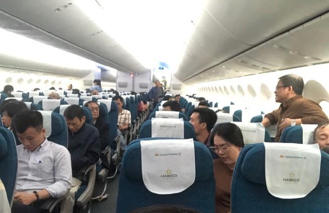 Máy bay Vietnam Airlines đi Hải Phòng lại đáp xuống Nội Bài