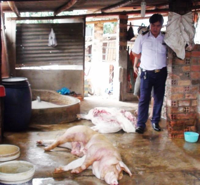 Phát hiện lò mổ heo bệnh bán cho các chợ ở Bình Dương, Đồng Nai