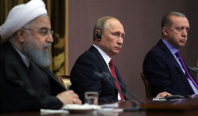 Ông Putin dự thượng đỉnh bộ ba về Syria
