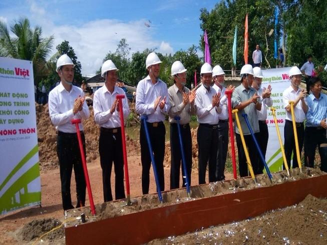 Xây dựng hơn 50 cầu nông thôn cho các tỉnh ĐBSCL