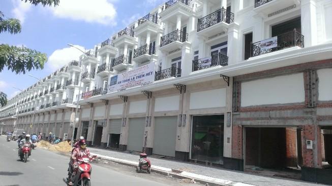 Giá nhà phố thương mại tăng hơn 260%