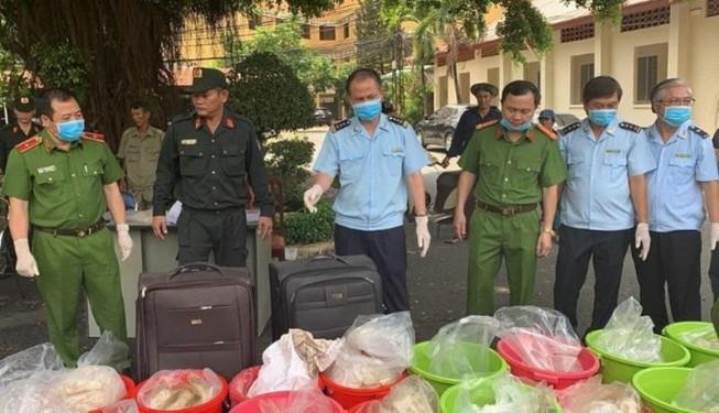 Hơn 500 kg ma túy vào TP.HCM qua đường cảng biển, hàng không