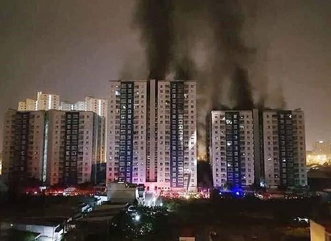 Công bố các chung cư chưa an toàn sau vụ cháy Carina
