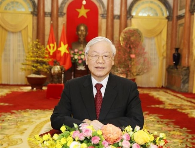 Tổng Bí thư, Chủ tịch nước chúc Tết Kỷ Hợi 2019