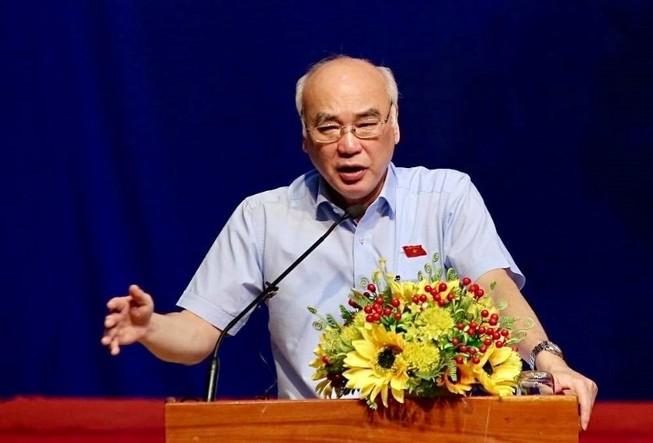 Ông Phan Nguyễn Như Khuê trao đổi Ban Dân nguyện về Thủ Thiêm