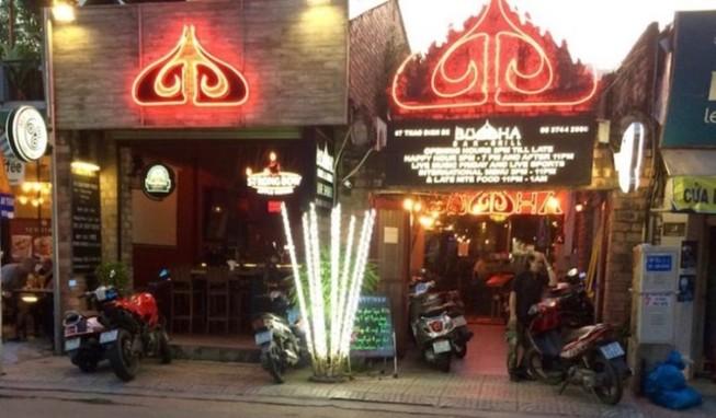 Đề nghị không sử dụng hình ảnh tôn giáo tại bar Buddha, quận 2