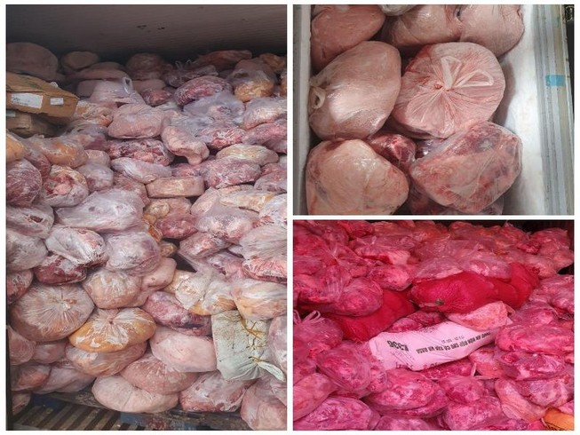 40 tấn thịt nhiễm dịch tả heo châu Phi tại cơ sở làm giò chả