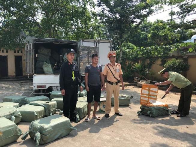 Chặn đứng hơn 2 tấn nầm lợn nhập lậu từ Trung Quốc