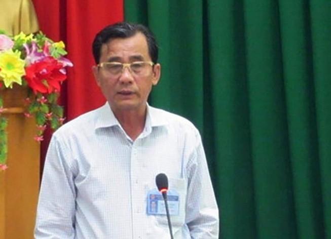 Cựu chủ tịch TP Phan Thiết bị khởi tố