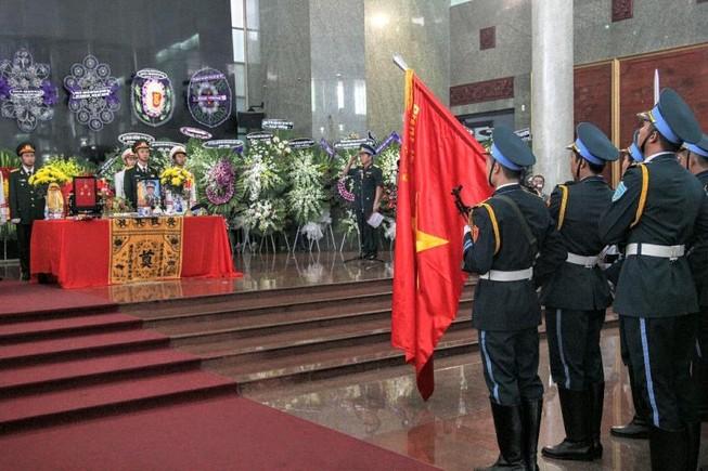 Lễ truy điệu 3 phi công hi sinh khi làm nhiệm vụ