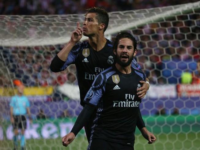 Atletico suýt ngược dòng thành công trước Real