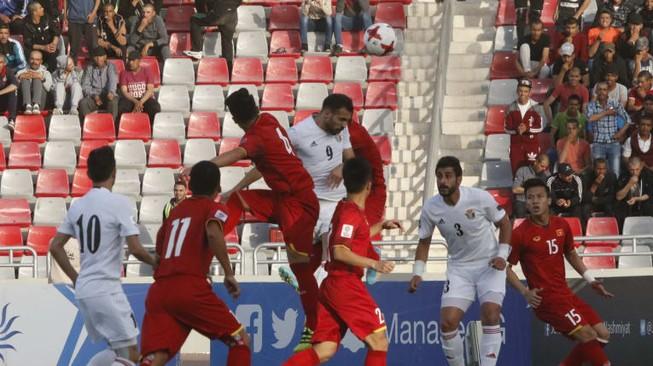 Hòa đáng tiếc Jordan, Việt Nam bỏ lỡ top 100 FIFA