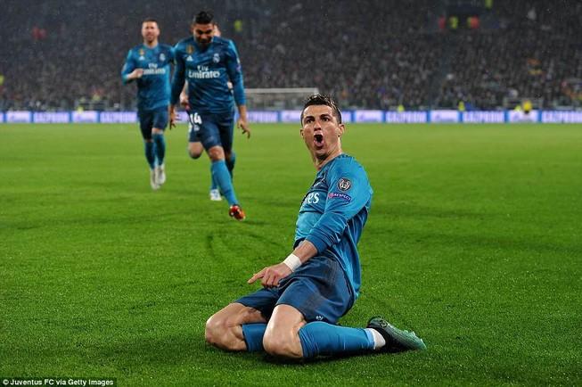 Juventus lại bị Real Madrid đè bẹp vì Ronaldo
