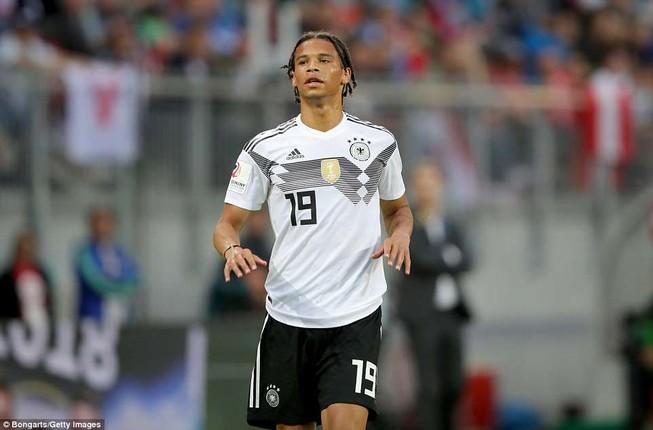 ĐKVĐ Đức công bố danh sách dự World Cup: Sao Man. City bị loại