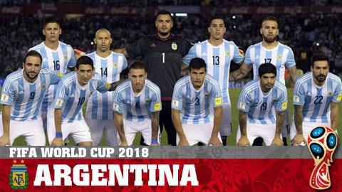 Bảng D World Cup 2018: Messi và Argentina gặp khó