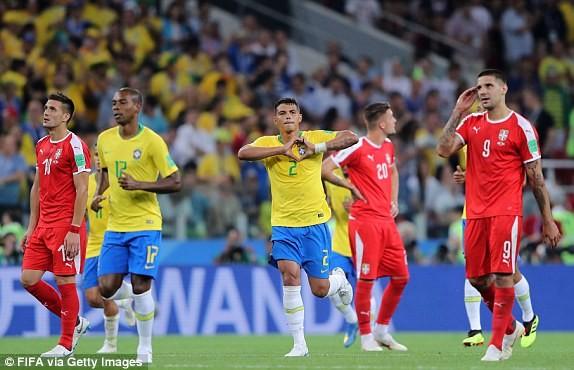 Cặp sao Barcelona tỏa sáng, Brazil vượt qua nổi ám ảnh Đức