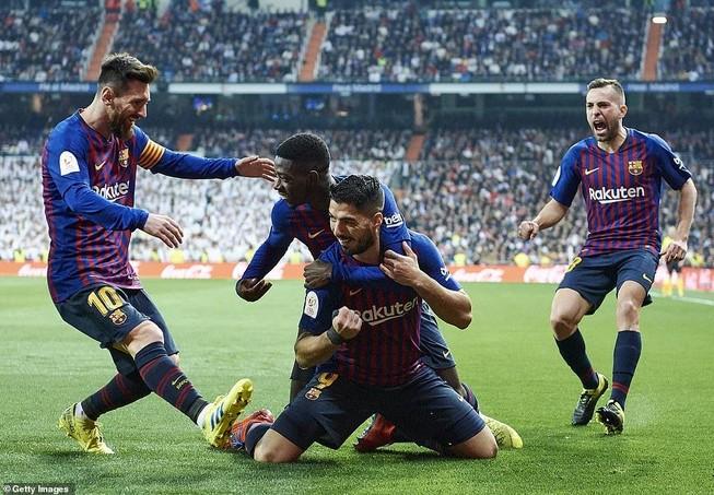 Thua đậm ngay sân nhà,Real Madrid nhìn Barcelona vào chung kết