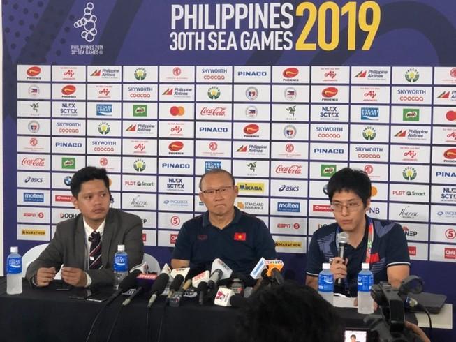 HLV Park Hang-seo: U-22 Việt Nam sẽ không bao giờ đầu hàng