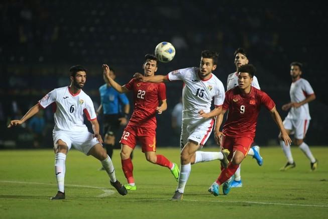 U-23 Việt Nam hòa may mắn U-23 Jordan
