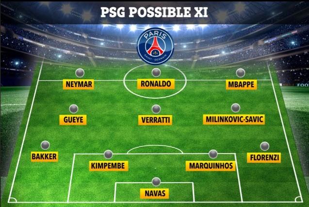 PSG chính thức xác nhận mua Cristiano Ronaldo