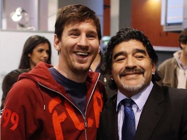 Thế giới tiếc thương huyền thoại Maradona: Messi nói gì?