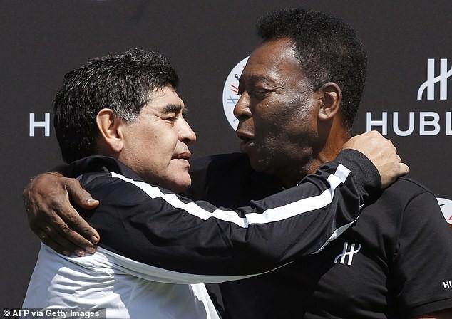 Chiến tranh và hòa bình giữa Maradona và Pele