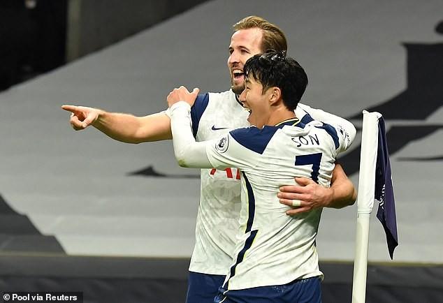 Son, Kane rực sáng, Tottenham hạ Arsenal lấy lại ngôi đầu