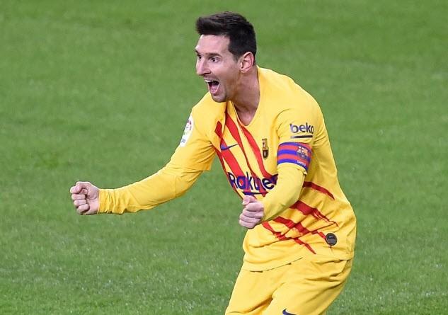 Messi vẫn nhận tiền của Barcelona dù anh có chia tay CLB. ẢNH: GETTY