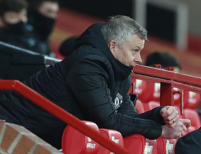 Solskjaer đang tập trung hết mức cho trận derby nước Anh giữa Liverpool và MU. ẢNH: GETTY