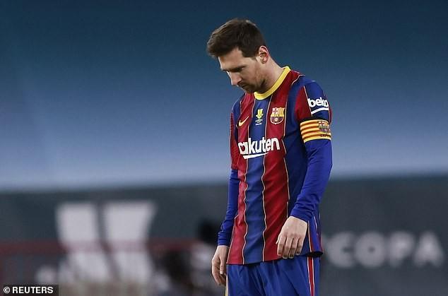 Tương lai của Messi ở Barcelona vẫn chưa rõ ràng. ẢNH: REUTERS