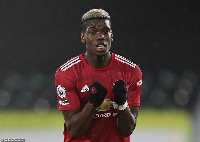 """Pogba đang có phong độ bay cao trong màu áo """"quỷ đỏ"""". ẢNH: REUTERS"""